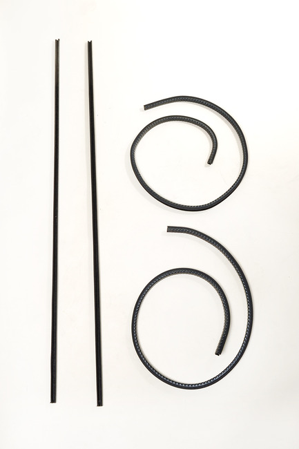 1950-1956 International 'L' 'R' 'S' Series Truck Window Channel Kit For Trucks With SINGLE Back Glass (Sold As A Kit)