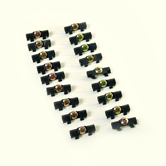 1964-1965 Dodge 330, Dodge 440, Coronet, Polara, Belvedere, Fury, Satellite and Savoy Windshield Clip Kit