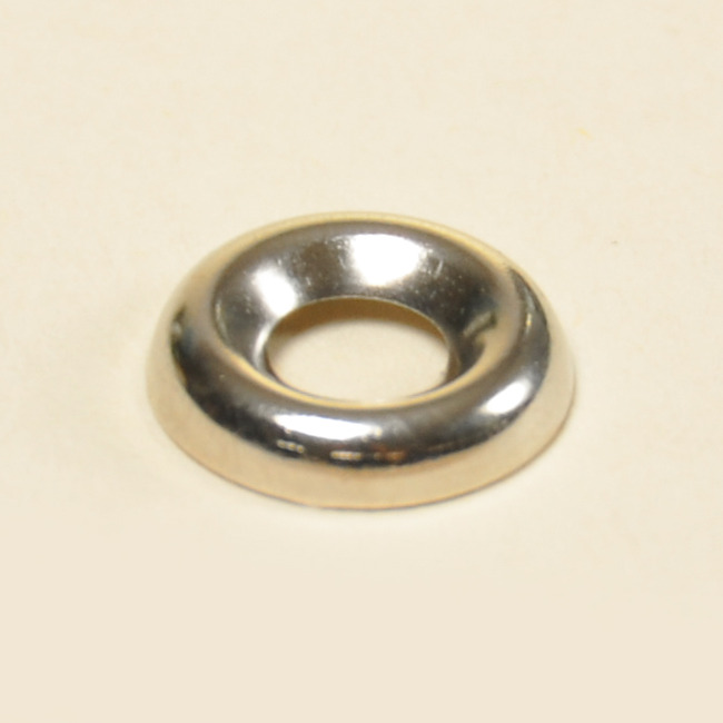 Washers- Countersunk Nickel On Brass